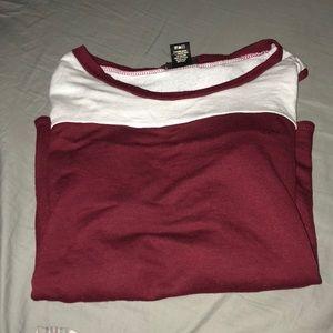 Rue 21 sweater maroon